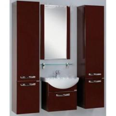 Комплект мебели для ванной Акватон Ария 65 темно-коричневый
