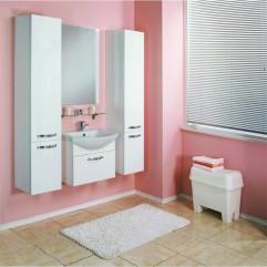 Комплект мебели для ванной Акватон Ария 80 белый