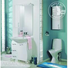 Комплект мебели для ванной Акватон Дионис 67 M белый/цветной