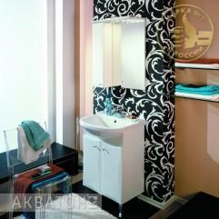 Комплект мебели для ванной Акватон Джимми 57 М белый