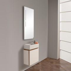 Комплект мебели для ванной Акватон Эклипс 46 М эбони светлый