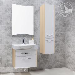 Комплект мебели для ванной Акватон Инфинити 65 белый