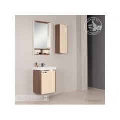 Комплект мебели для ванной Акватон Йорк 50 М бежевый/джарра