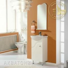 Комплект мебели для ванной Акватон Колибри 45 белый