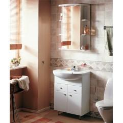 Комплект мебели для ванной Акватон Кристалл 65 белый