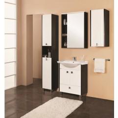 Комплект мебели для ванной Акватон Крит 60 H белый/венге