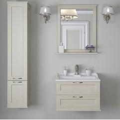 Комплект мебели для ванной Акватон Леон 65 дуб бежевый
