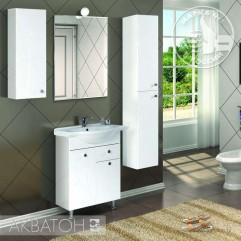 Комплект мебели для ванной Акватон Лиана 60 M белый