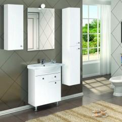Комплект мебели для ванной Акватон Лиана 65 M белый