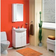 Комплект мебели для ванной Акватон Пинта 60 M белый
