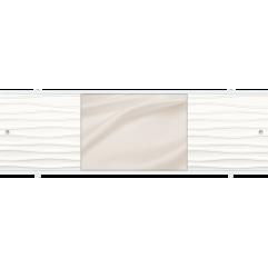 Экран под ванну раздвижной 170 см Метакам Премиум НШ бежевый