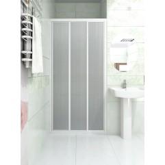 Душевая дверь текстурное стекло 220x180 Метакам КЛАССИК