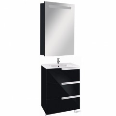 Комплект мебели для ванной Roca Victoria Nord Black 60-3