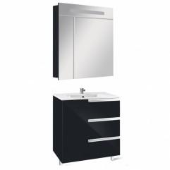Комплект мебели для ванной Roca Victoria Nord Black 80-3