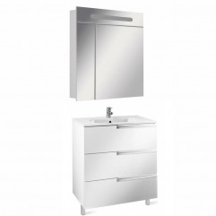 Комплект мебели для ванной Roca Victoria Nord Ice 80-3
