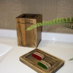 Стакан для зубных щеток SmartGlass Альбион
