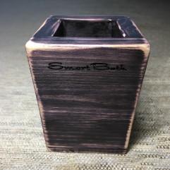 Стакан для зубных щеток SmartGlass Черная сирень