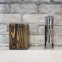 Стакан для зубных щеток SmartGlass Черная смола