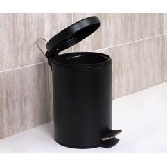 Ведро для мусора 5 литров WasserKRAFT K-635 Black