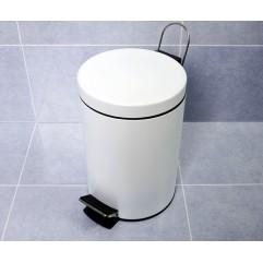 Ведро для мусора 5 литров WasserKRAFT K-635 White