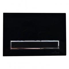 Кнопка для инсталляции BLICK, черный глянцевый, универсальная