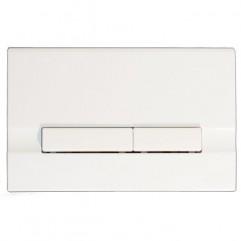 Кнопка для инсталляции BLICK, белый глянцевый, универсальная