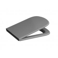 Быстросъемная крышка-сидение для унитаза Cersanit COLOUR с микролифтом, серый