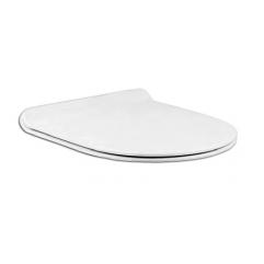 Быстросъемная крышка-сидение для унитаза Cersanit STREET FUSION Slim Lift с микролифтом, белый