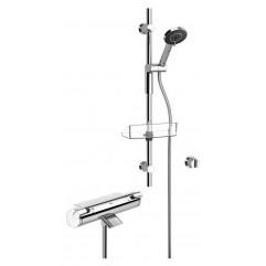 Термостатический смеситель для ванны и душа с душевым комплектом Oras Optima 7149U