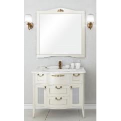 Комплект мебели для ванной Акватон Версаль 100 слоновая кость