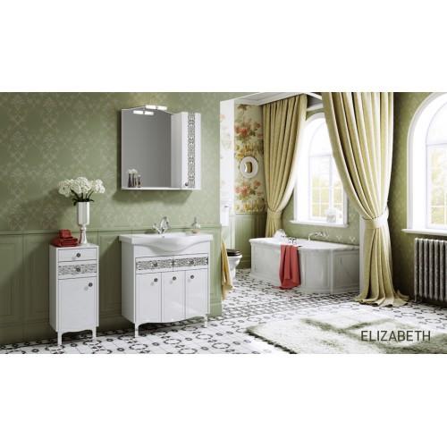 Комплект мебели для ванной Alavann Elizabeth 80 белый