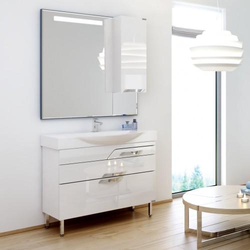 Комплект мебели для ванной Alavann Elsa 105 белый