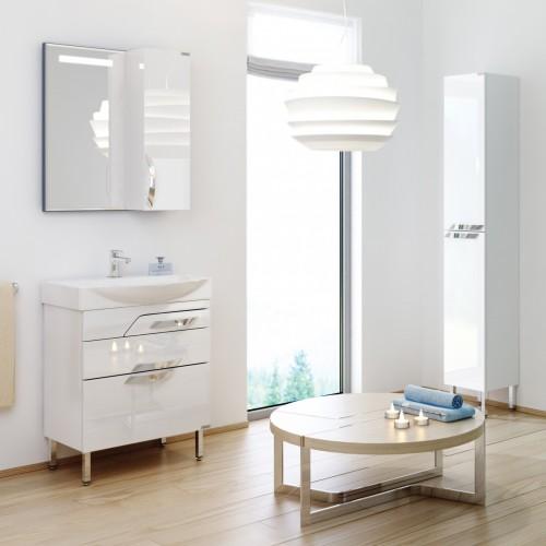Комплект мебели для ванной Alavann Elsa 65 белый