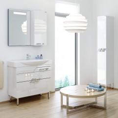 Комплект мебели для ванной Alavann Elsa 85 белый