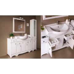 Комплект мебели для ванной Alavann Jacklin 80-01 белый