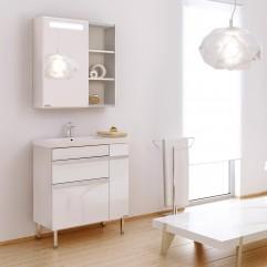 Комплект мебели для ванной Alavann Marko 70 белый