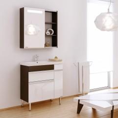 Комплект мебели для ванной Alavann Marko 70 венге