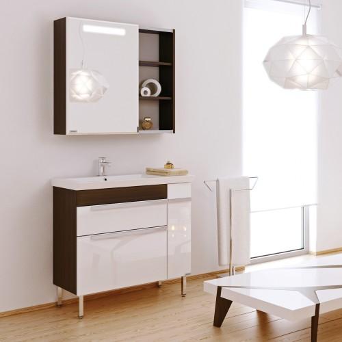 Комплект мебели для ванной Alavann Marko 85 венге