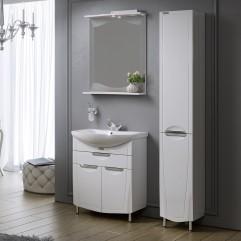 Комплект мебели для ванной Alavann Monaco 65 белый