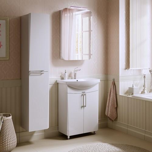 Комплект мебели для ванной Alavann Niсole 60 белый