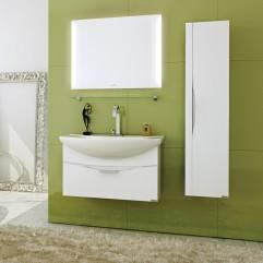 Комплект мебели для ванной Alavann Teneri 80 белый