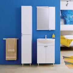 Комплект мебели для ванной Alavann Эстель 60 белый