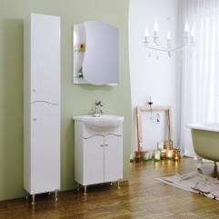 Комплект мебели для ванной Alavann Мари 55 белый