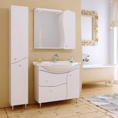Комплект мебели для ванной Alavann Вивьен 90 белый