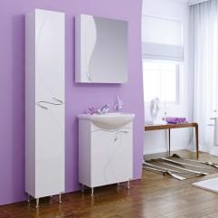 Комплект мебели для ванной Alavann Жизель 60 белый