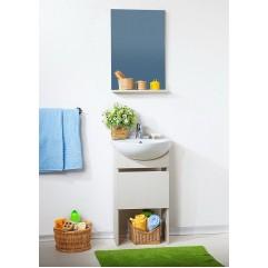 Комплект мебели для ванной Бриклаер Катюша 50 светлая лиственница