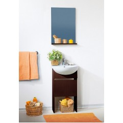 Комплект мебели для ванной Бриклаер Катюша 50 венге