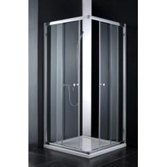 Душевой уголок Cezares Anima 90x90 см прозрачное стекло ANIMA-A-2-90-C-Cr
