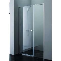 Душевая дверь в нишу 100х195см прозрачное стекло ELENA-W-B-11-30+70-C-Cr