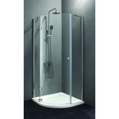 Душевой уголок 90x90 прозрачное стекло CEZARES VERONA-R-1-90-C-Cr-L